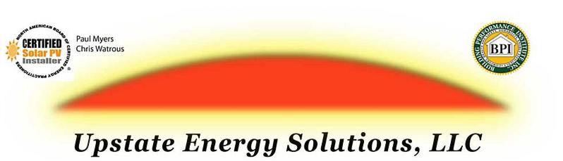 Upstate Energy Solutions - The True Home Performance Specialists